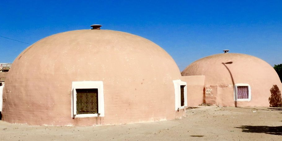 the Round Houses of Laoune