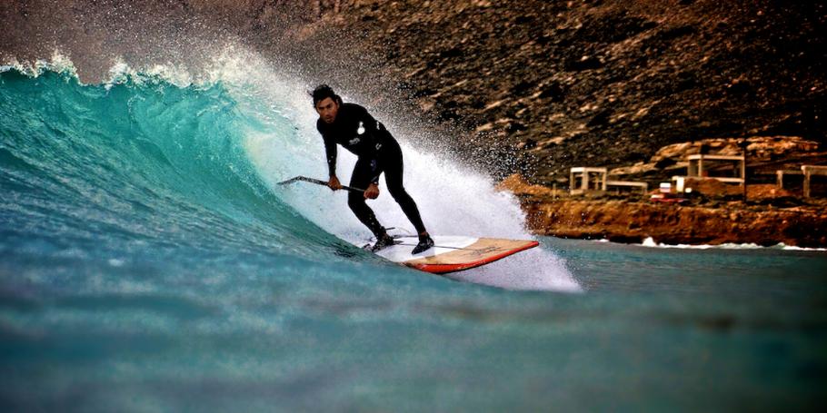 Surfing water shots