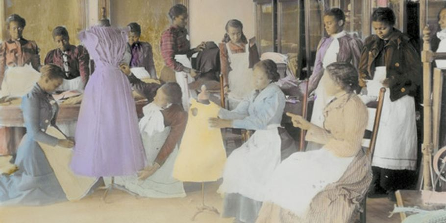 Cutting and Sewing, 1899