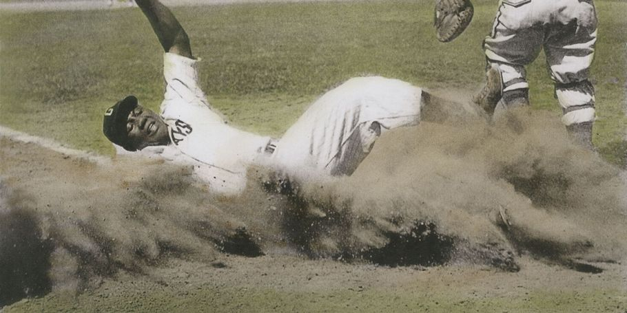Josh Gibson Scores, 1944 Negro League East-West All-Star Game