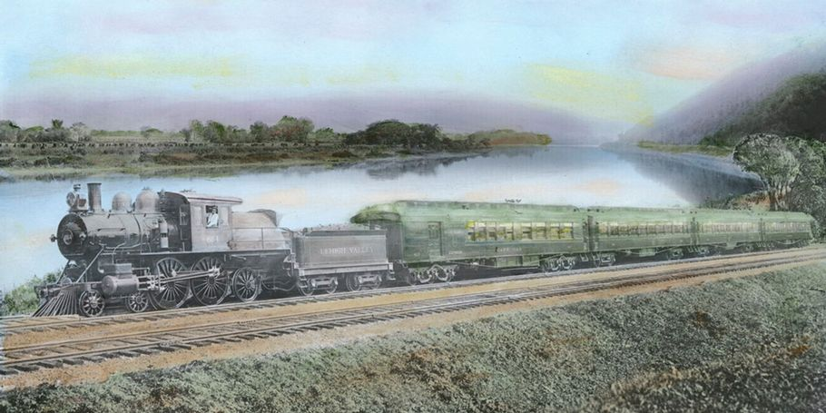 Leheigh Valley RailRoad, Pennsylvania, 1905
