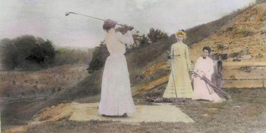 Women Golfers, 1890