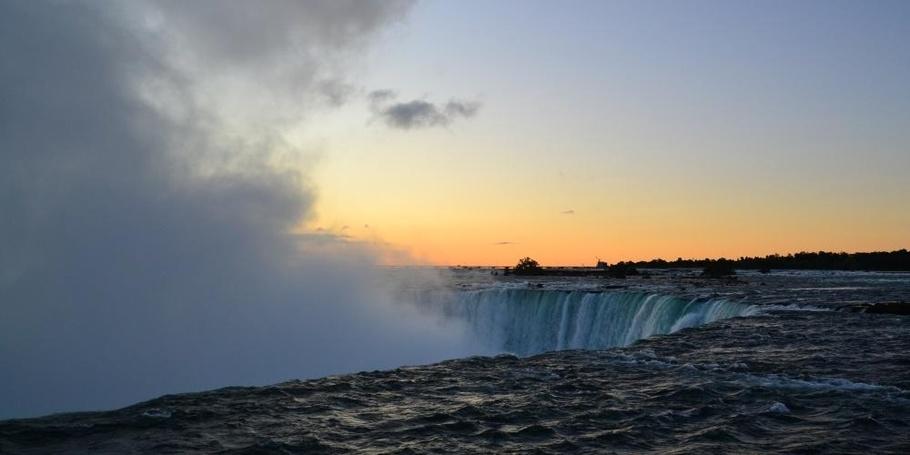 Falls at Sunrise