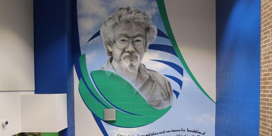 David Suzuki S.S. Cafeteria Mural