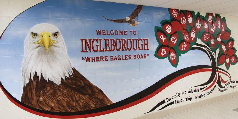 Ingleborough P.S. Hallway Mural