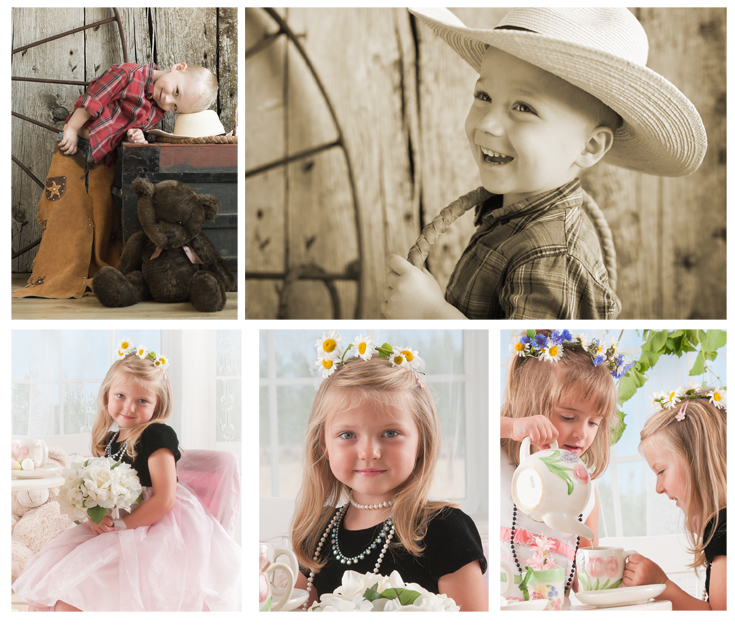 Children's mini session portraits
