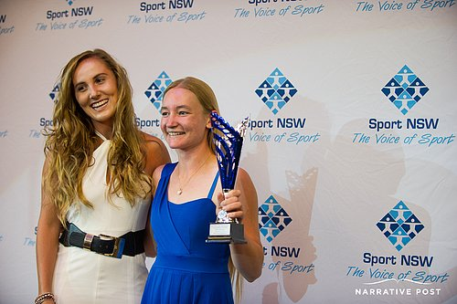 Jessica Cronje winner of NSW Young Athlete of the Year with a disability award