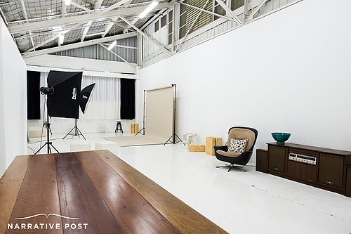 Sydney warehouse photo studio hire and meeting room hire