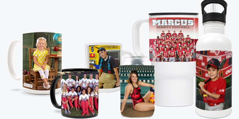 Photo Mugs, Coolers, Water Bottles