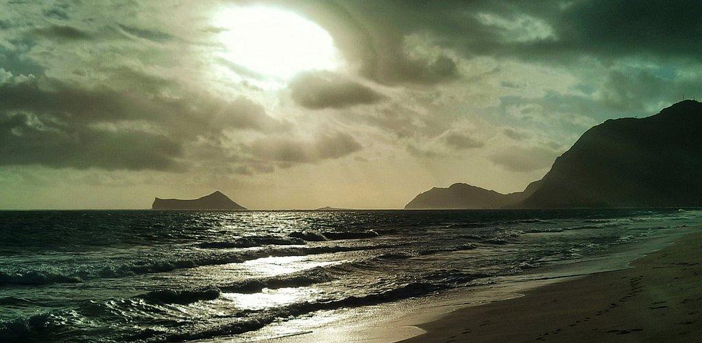 Sunrise At Waimanalo Beach